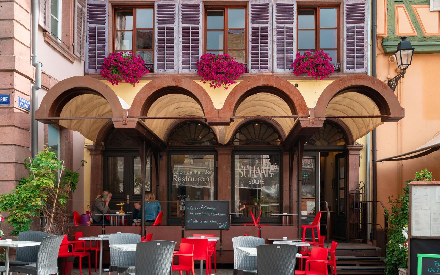 Ouverture de notre restaurant Schaal'É Sucré !