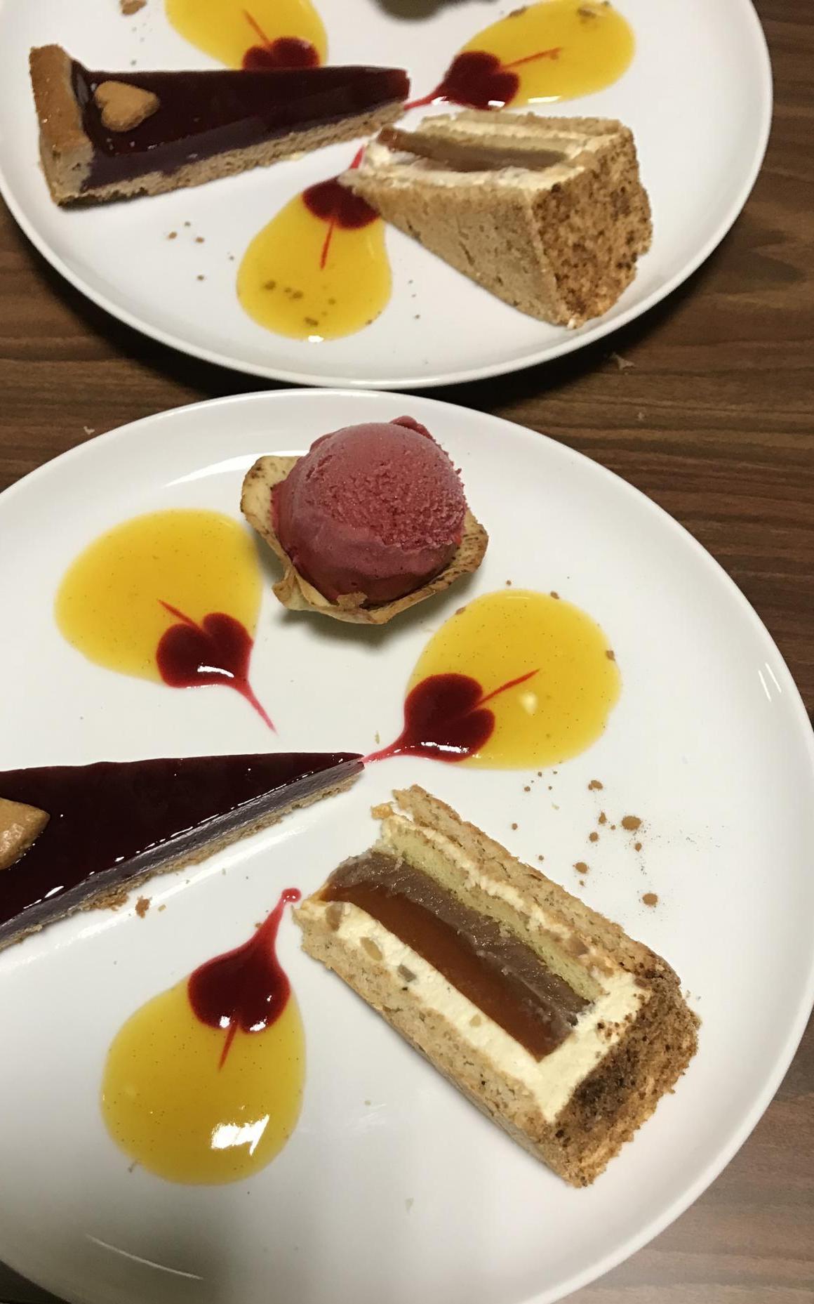 """Association de 4 desserts à l'assiette lors du Gala """"Divine"""""""