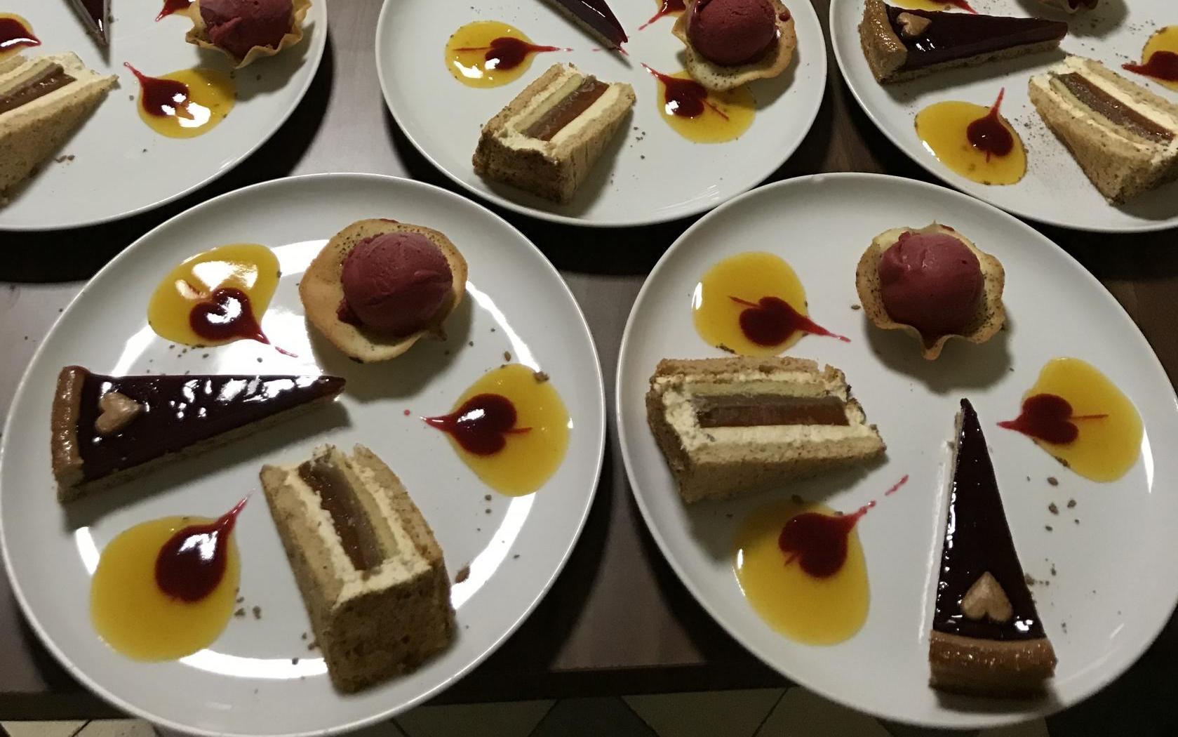 """Réalisation des desserts du gala """"Divine"""""""