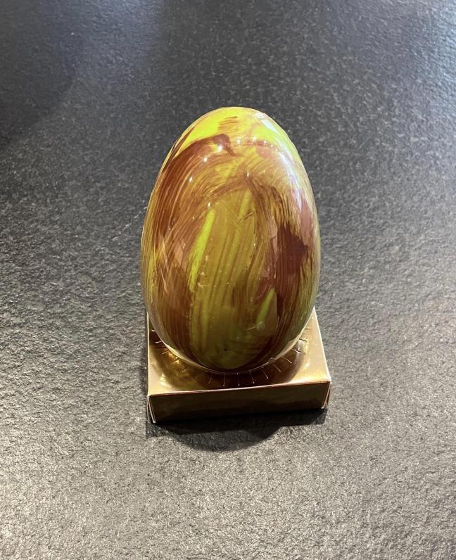 Poule Pas Cône au Chocolat Noir