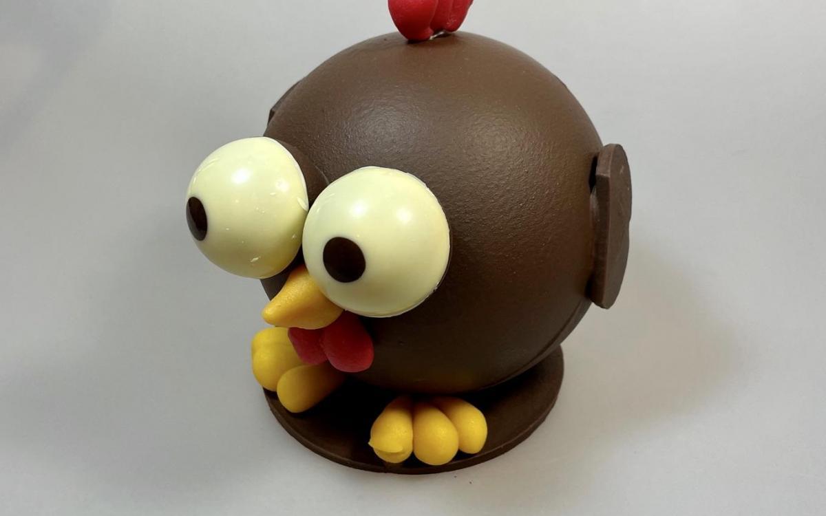 Poulette au Chocolat Noir